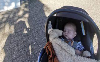 De eerste dag naar de kinderopvang